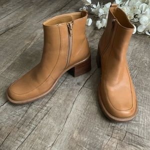 Diba Retro Light Brown Leather Boots